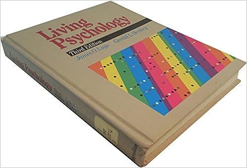 Amazon.com: Living Psychology (9780023722509): James O. Lugo ...