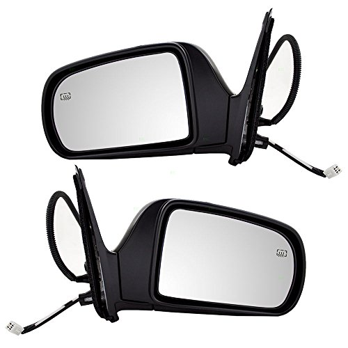 Driver and Passenger Power Side View Mirrors Heated Replacement for Toyota Van 87940-08061 87910-08061 AutoAndArt