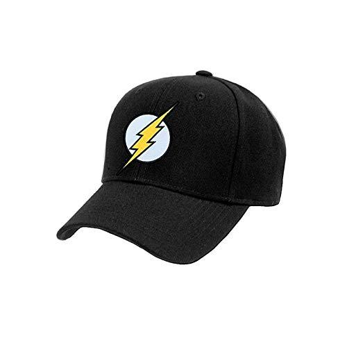 Flash - Gorra con Logo para Adultos Unisex (Talla Única) (Negro ...