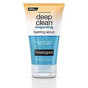 Neutrogena Deep Clean Invigorating Foam Exfoliating Scrub 125mL