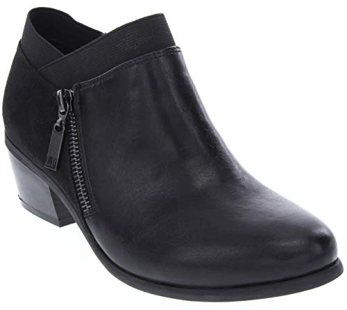 London Fog Womens Harper Dress Boot Black 8