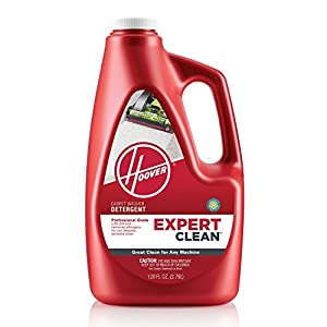 HOOVER AH15074 Carpet Cleaner Detergent Solution, Expert Clean Formula, 128 oz