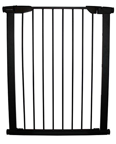 Duragate Pet Gate - Cardinal Gates Extra Tall Auto-Lock Pressure Gate, Black