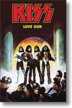 HSE Kiss Poster Love Gun