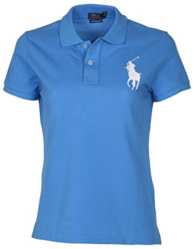 Polo Ralph Lauren Womens Big Pony Skinny Fit Polo Shirt