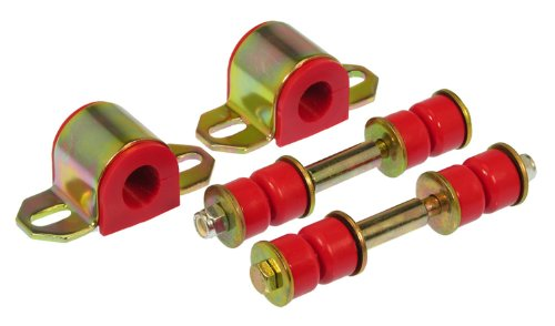 (Prothane 7-1131 Red 23 mm Rear Sway Bar Bushing Kit)