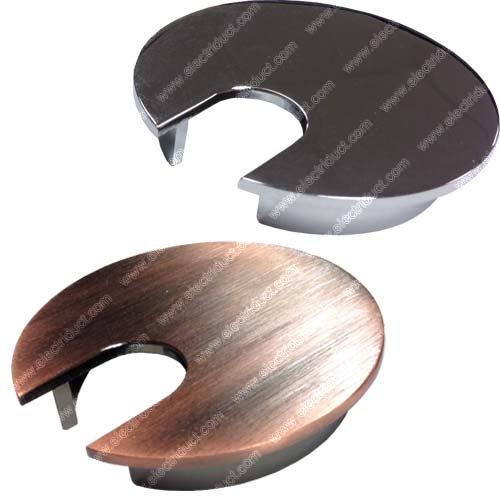 2 5 Quot Metal Desk Grommet Color Brushed Nickel Import