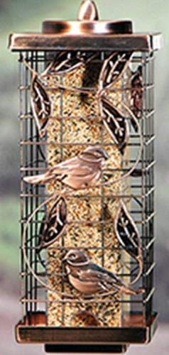 - Audubon Kay Home Product's Squirrel-Resistant Caged Tube Feeder
