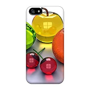 Protection Case For Iphone 5/5s / Case Cover For Iphone(cristal Fruit)