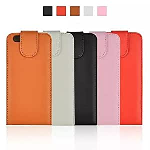 Mini - Flip Vertical Pattern PU Leather Cover for iPhone 6 , Color-Brown