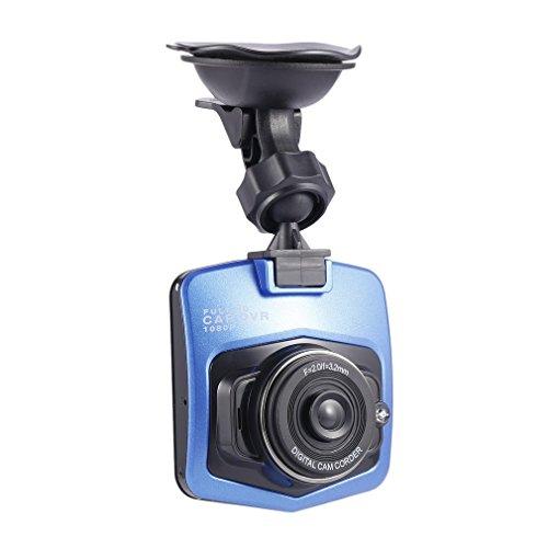 Bemodst® 6,1cm Caméra de voiture Caméra Full HD 1080p Enregistreur vidéo de voiture véhicule HD Dash Cam