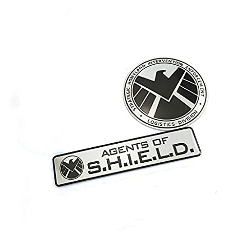 Metal Avengers Agents Of Shield Car Emblem Decal Auto Badge Motorcycle Sticker