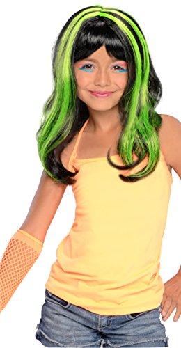 Green Neon Streaks