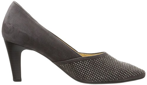 Gabor Damen Basic Pumps Grau (19 zinn)