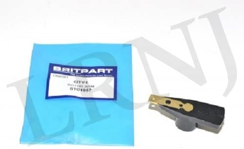 PART STC1857 BRITPART DISTRIBUTOR ROTOR ARM COMPATIBLE WITH LAND ROVER DEFENDER 90//110 V8 ENGINE
