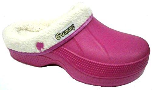 dema - Zapatillas de estar por casa de Material Sintético para mujer rosa Lampone 36