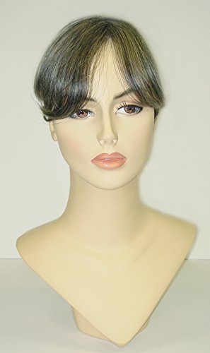 Salt And Pepper Wigs (Hairdiamond Italia Top Semi Wig Hair Extension Human Hair 9