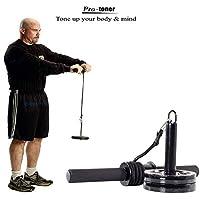 Protoner Forearm Wrist Roller for arm Exercises