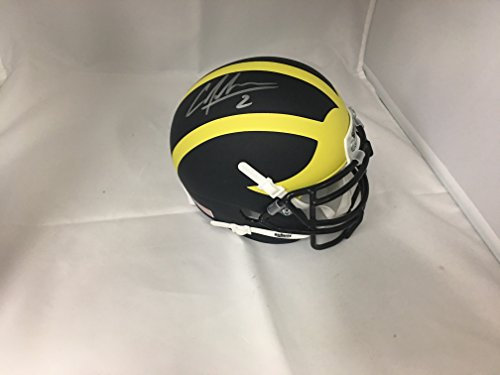 Charles Woodson Autographed Signed Rare Michigan Wolverines Mini Helmet GTSM Hologram (Woodson Autograph)