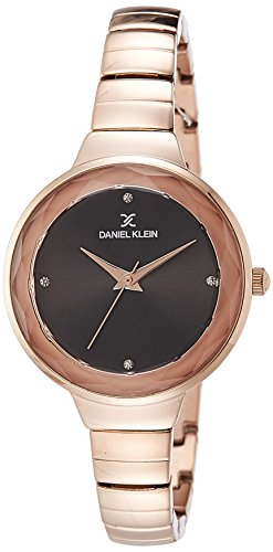 Daniel Klein Analog Black Dial Women's Watch-DK11279-6