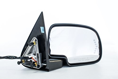Right Passenger Side Door Mirror Heated Power-Folding for Chevy Silverado Suburban Tahoe Avalanche, GMC Sierra 1500 2500 3500 Yukon XL (2000 2001 2002 2003 2004 2005 2006 2007) GM1321373