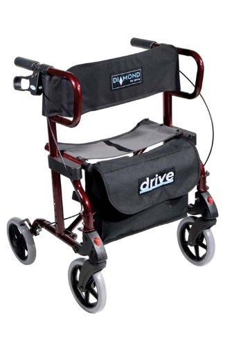 Amazon.com: Drive Diamante Deluxe Aluminio Andador y silla ...