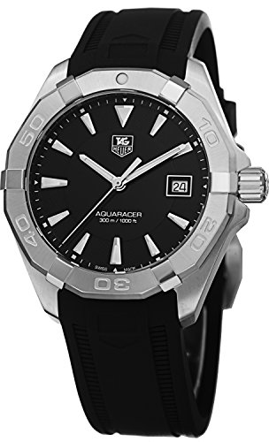 tag-heuer-mens-way1110ft8021-300-aquaracer-stainless-steel-watch-with-black-rubber-band