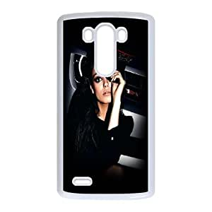 LG G3 Cell Phone Case White_Mila Kunis Look Krkfd