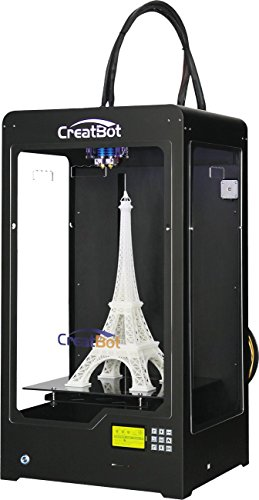 CreatBot DX Plus – Professional Grade 3D Printer – Dual Extruders, Semi-Enclosed, Heated Bed, Solid Steel Construction.