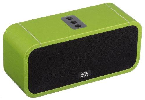 Fatman Music Box One Tragbarer Drahtloser Bluetooth Lautsprecher Kompatibel mit Smartphone, iPod und iPad - Grün
