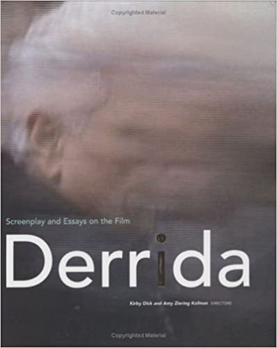 com derrida screenplay and essays on the film  derrida screenplay and essays on the film 1st edition