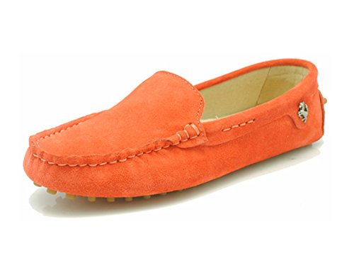 Balletto Donna Minitoo Arancione Scuro Grigio S4wAwa