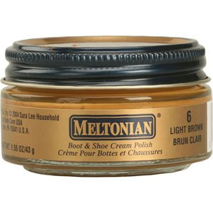 Meltonian Shoe Cream, Light Brown