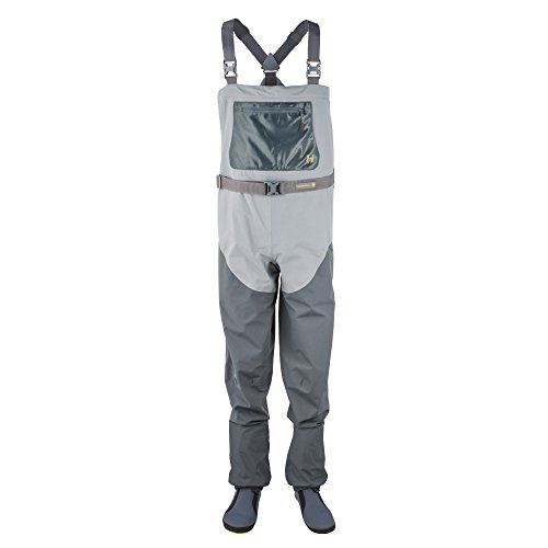 - Hodgman H4 Stocking Foot Chest Waders - Storm Grey/Charcoal - L - Fly
