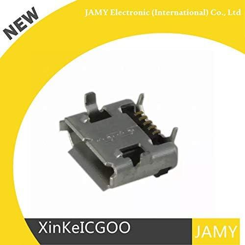 HDMI connector CONN MICRO USB TYPE B DVI Calvas Original 20PCS 10103592-0001LF 101035920001LF USB