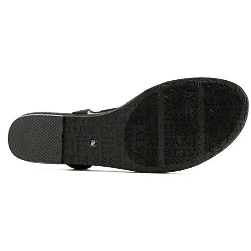 Sandales 38 Alfani Noir Femme Noir qIfYd