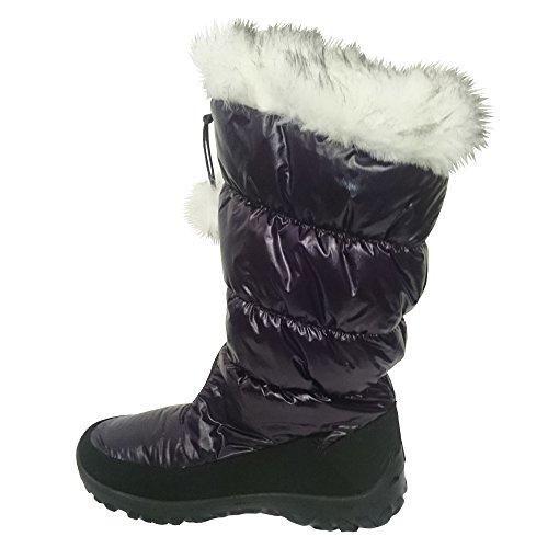 & pour fille Heavenly Feet Secret Chaud Hiver Bottes de snowboard Violet