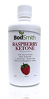 Raspberry Ketone with Green Tea and L Carnitine Create a Premium Weight Loss Supplement and Appetite Suppressant. Lose Weight Naturally 32fl oz