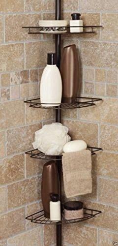 Shower Caddy Corner Shelf Organizer Bath Storage Bathroom Accessory Rack Holder
