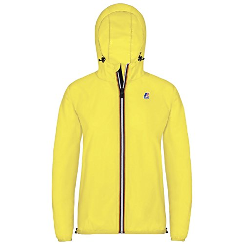 way Mujer Fluo Yellow Impermeable Chaqueta K005if0 Para K dwFxqZWRXd