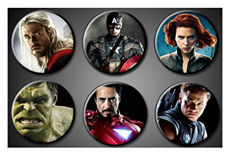 Avengers Superhero Magnets Actors - 1
