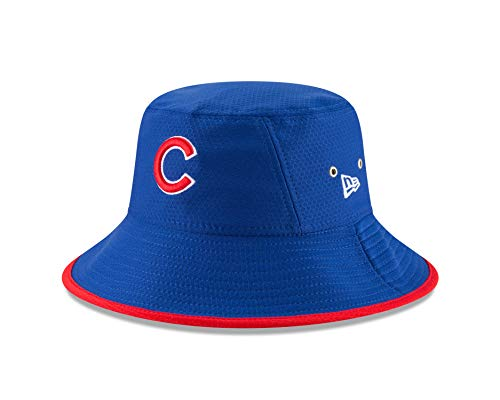 New Era Officially Licensed MLB Chicago Cubs Blue Bucket Hat