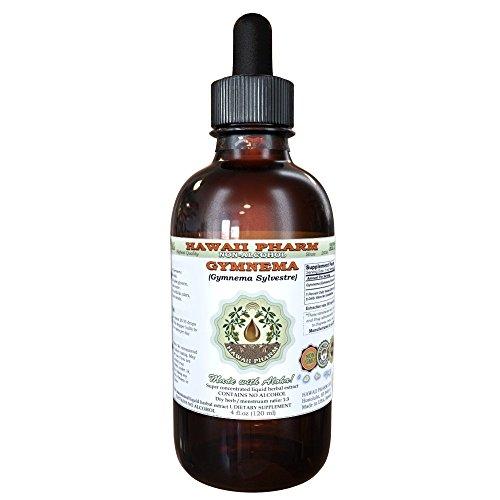 Gymnema Alcohol-FREE Liquid Extract, Organic Gymnema (Gymnema Sylvestre) Dried Leaf Glycerite 2 oz