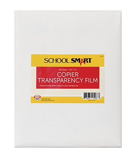 11 in Copier Film Without Sensing Strip, Pack of 100, Transparency ()
