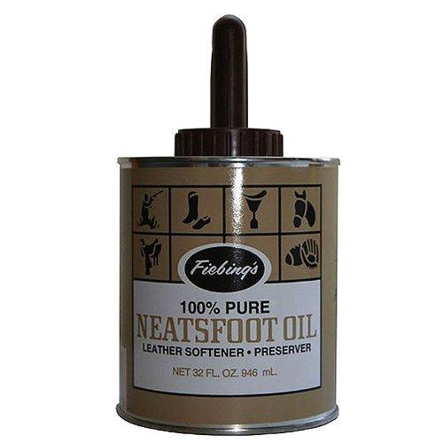 Fiebing's Pure Neatsfoot Oil with Applicator, 32 oz by Fiebing's