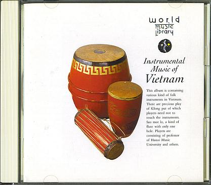 Instrumental Music of Vietnam