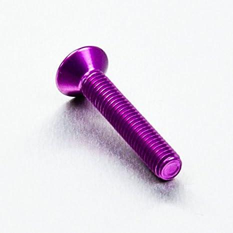 x 35mm Rouge Vis aluminium /Ã/ t/Ã/ªte frais/Ã/©e M6 x 1.00mm