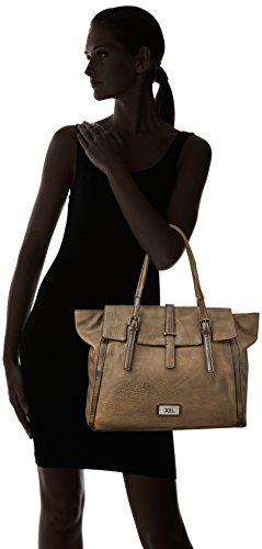 XTI 85850.0, Shopper para Mujer, 45x30x17 cm (W x H x L) Marrón (Taupe)
