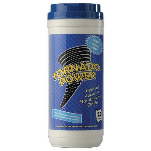Tornado Power Cleaning Cloths, 25 Disposable -