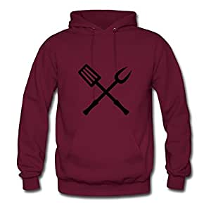 Casual Different Koch____f1 Cotton Sweatshirts X-large Women Burgundy